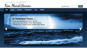 The Law Offices of Kim Marie Staron - New website look